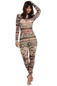 skin jumpsuit sale multi skin vibes jumpsuit