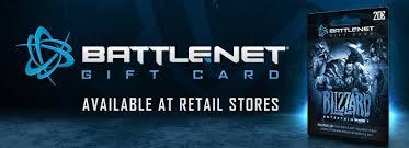 battlenet prepaid card blizzard introduces battle net gift card blizzpro