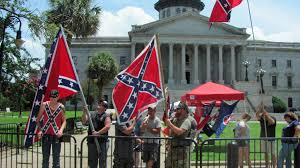 Confederate Flag Battle Flag Confederate Flag Supporters Demonstrate On Second Anniversary Of