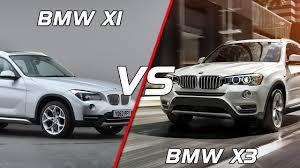 2016 bmw x1 vs bmw x3 youtube