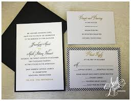 black and gold wedding invitations joscelyne s wedding invitation suite april designs