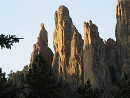 South Dakota mountains images Sky piercing granite spires on needles mountain in south dakota jpg