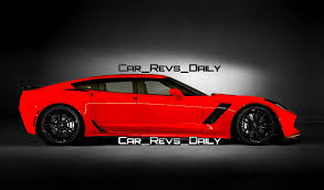 chevy supercar future supercar renderings 2017 chevrolet corvette z06 sedan 1