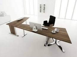White Modern Desks by Modern Desk Design Interior Design