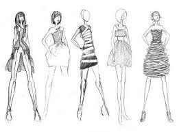 fashion design sketches for beginners picture fashion design