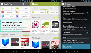 play store android play store version 4 0 available now android