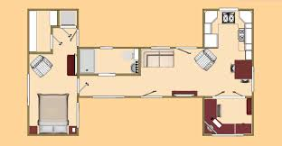 shipping container floor plan the