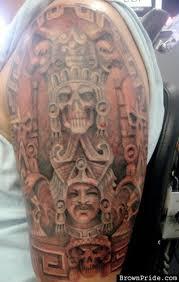 amazing half sleeve aztec tattoo design tattoos book 65 000