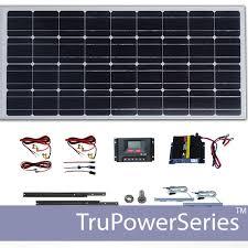 diy solar flood light 500w trupower portable solar power system