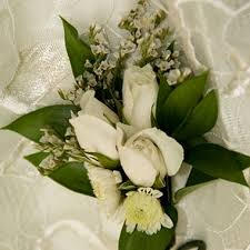 wedding corsages wedding collection white corsages and boutonnieres 12pc