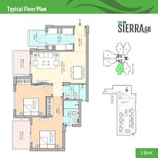 Terminal 5 Floor Plan by M3m Sierra New Project Sector 68 Sohna Road Gurgaon