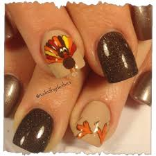 thanksgiving fingernails designs that you must learn 2015