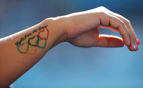 rio olympics here are some of the best athletes u0027 tattoos on show