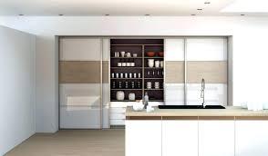 cuisine avec porte coulissante porte coulissante pour meuble de cuisine meuble de cuisine avec