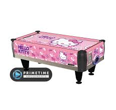 hockey time air hockey table hello kitty kids air hockey table primetime amusements