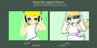 Draw It Again Meme - draw this again meme by synnibear03 on deviantart