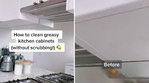 what are the easiest kitchen cabinets to clean how to clean kitchen cabinets chantel mila shares easy