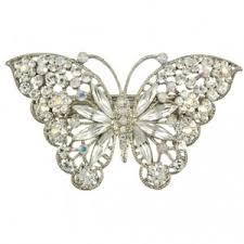 butterfly hair clip butterfly hair clip fluttering glitzy secrets polyvore
