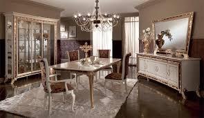 tavoli per sale da pranzo tavoli da pranzo in legno decorato con foglia oro per sale da