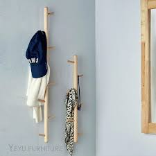 wall mounted coat hooks interior square wooden wall mounted board