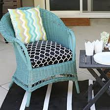 Rocking Chair Cushion Covers How To Sew A Half Round Seat Cushion Cover For My Outdoor