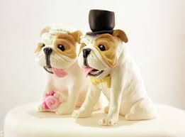 bulldog cake topper bulldog wedding cake toppers custom bulldog cake topper m flickr