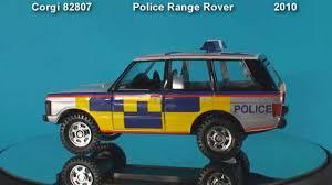 matchbox range rover police range rover corgi toys die cast model youtube