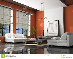 3d home interior home interior 3d rendering stock image image 2253401