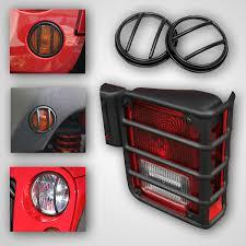 jeep wrangler brake light cover jeep wrangler jk 10 piece euro guard light kit 2007 2017 xxx12496 02