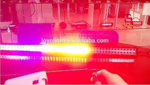 multi color 50 inch led light bar offroad light bar rgb color