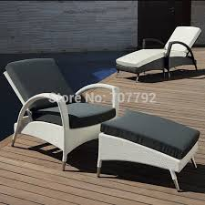 outdoor chaise lounge garden treasures driscol taupe steel
