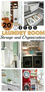 Laundry Room Storage Awesome Laundry Room Storage And Organization Ideas