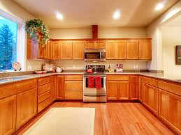 Golden Oak Kitchen Cabinets by Most Effective Dark Hardwood Floors With Golden Oak Cabinets