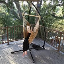 hammock steel c frame stand air porch swing c frame cotton
