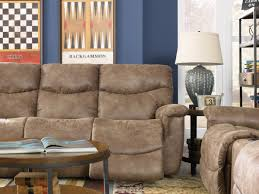 La Z Boy James Reclining by Faux Leather La Z Time Full Reclining Sofa By La Z Boy Wolf And