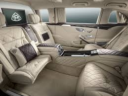 maybach mercedes mercedes stretches the maybach into limousine form