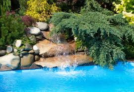 rock waterfalls for pools 80 fabulous swimming pools with waterfalls pictures