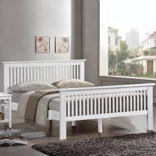 new harmony beds buckingham wooden bed frame oak or white