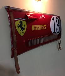 vintage ferrari art 1930 u0027s ferrari grand prix race car vintage hood panel section home