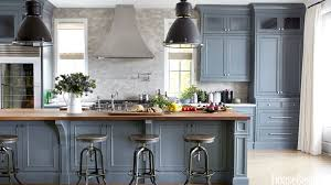 Blue Painted Kitchen Cabinets Remodeling Refurbish And Painting Kitchen Cabinets U2013 Kitchen Ideas