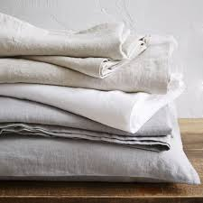 belgian flax linen sheet set west elm au