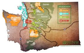Wa Map Washington Trails Map Best Of The Northwest Best Of The Northwest