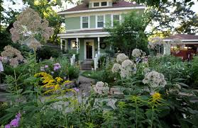 scenic chic front yard landscaping design with the best exterior