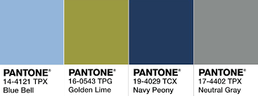 pantone 2017 color trends pantone colour trends for aw17 icon by design