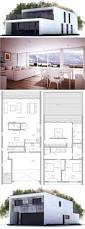 Floor Plans For One Level Homes by Best 25 Contemporary House Plans Ideas On Pinterest Modern