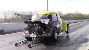 volkswagen beetle race car 400hp turbo vw beetle at the strip simpson racing engines