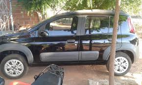 Famosos Vende-se veículo Fiat Uno Way preto &CZ77