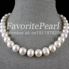 pearl size necklace images Pearl necklace large pearl size 12 13mm 17 5 18 inch white color jpg