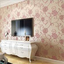 aliexpress com buy new pastoral fresh wallpapers beautiful big aliexpress com buy new pastoral fresh wallpapers beautiful big flowers 3d wall murals wallpaper romantic pink purple sweet home decoration wz003 from