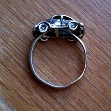 car rings images The love bug car ring for vintage stuff friday pamdora 39 s box jpg
